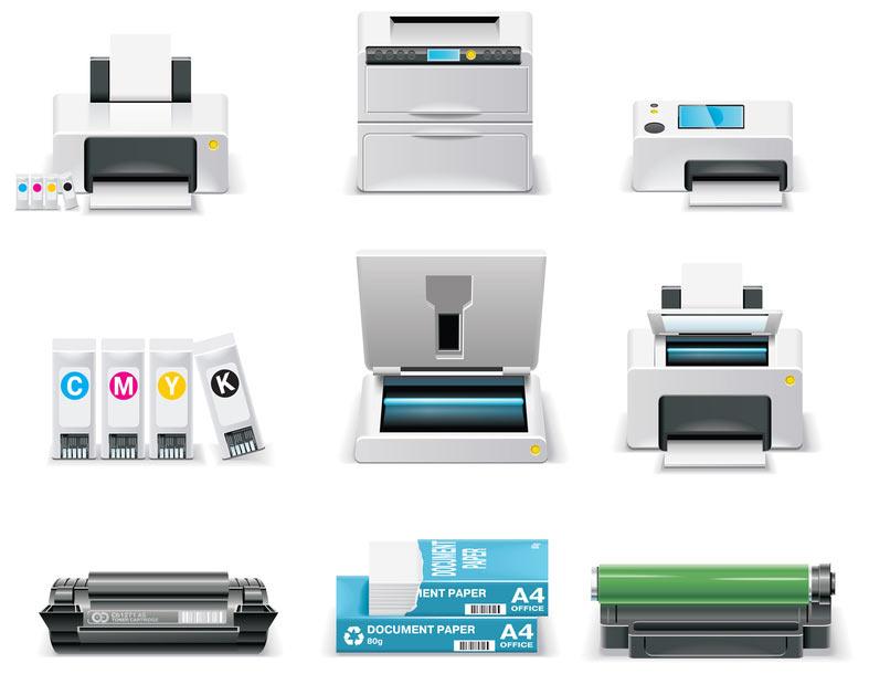 Il existe différents modèles d'imprimante