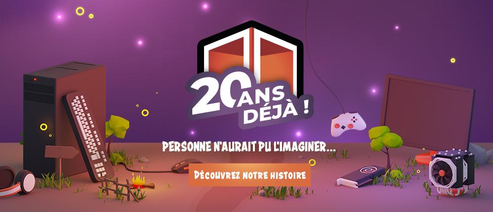 Les 20 d'histoire de Materiel.net