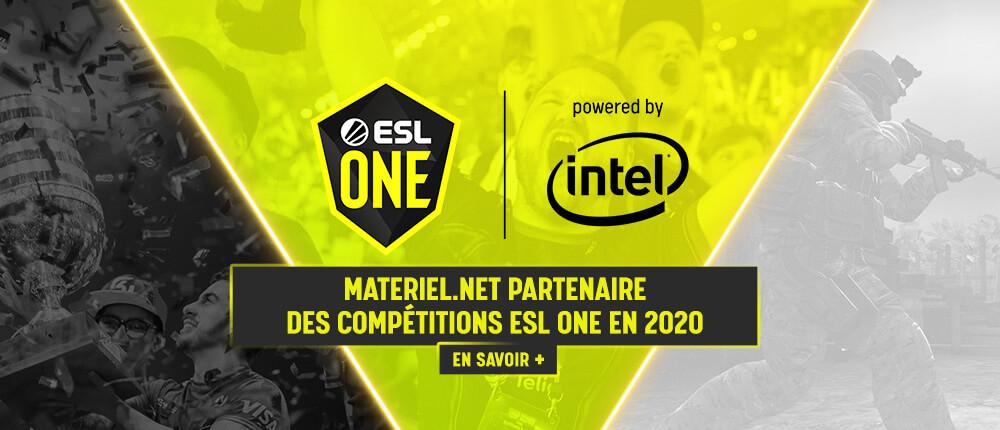 Materiel.net partenaire de l'ESL One 2020