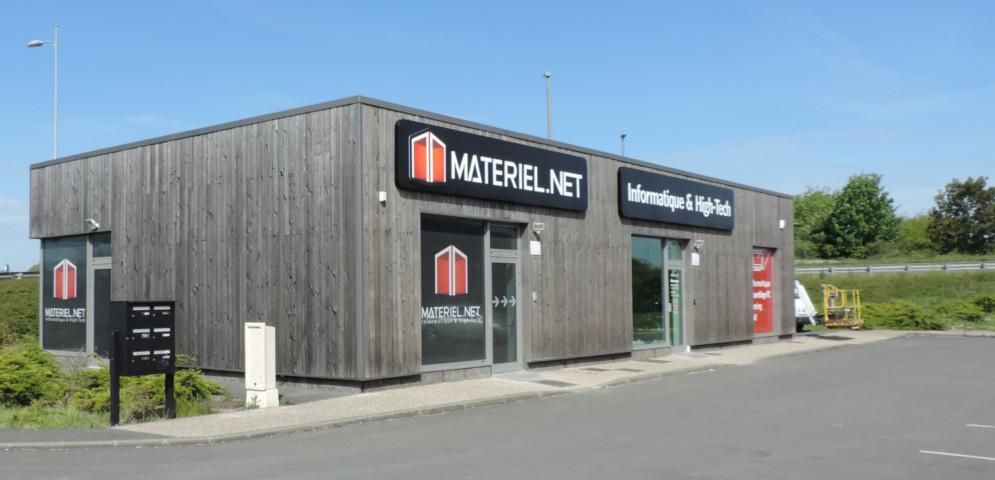 Boutique de matériel et réparation informatique Materiel.net Lille