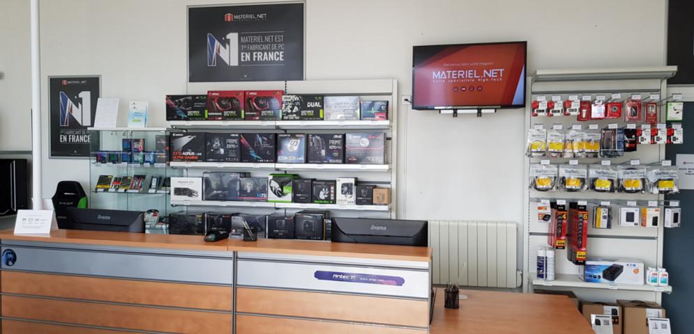 Boutique de matériel et réparation informatique Materiel.net Montlhery