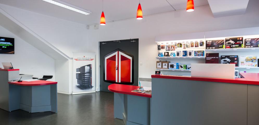 Boutique de matériel et réparation informatique Materiel.net Rennes