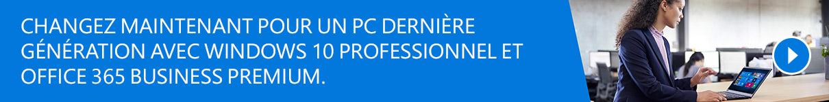 Passez à Windows 10 Professionnel