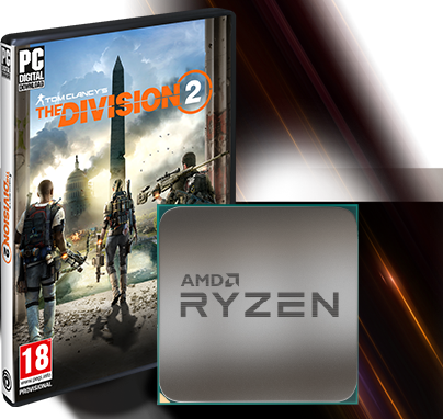 The Division 2 Packaging and AMD Ryzen Processor