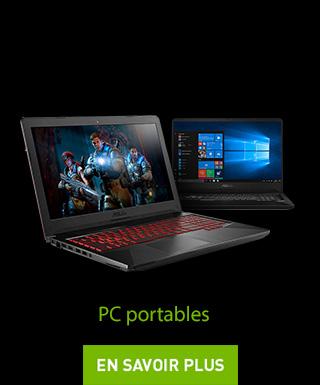 Voir tous les PC portables éligibles