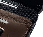 PC portable asus k72f Sunken Hinge Design