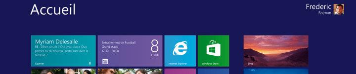 Windows met l'accent sur vous, et vos centres d'intérêt.
