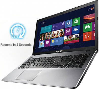 Le PC Portable Asus X550 vous offre la polyvalence d'un processeur intel core i3 ivy bridge, nvidia geforce et instant on