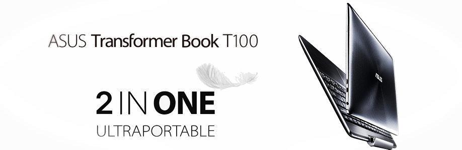 Asus Transformer Book T100TA : Réinventez votre ordinateur Ultraportable Windows 8.1