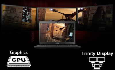 Asus ROG Trinity Display, découvrez l'affichage triple écran !