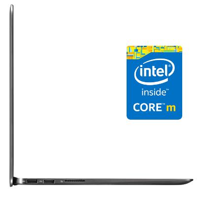 Performance et vélocité extrême avec le trio Intel Core M Broadwell, SSD et écran 13 pouces