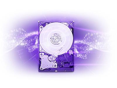 Le disque dur Purple de Western Digital dédié à la vidéosurveillance