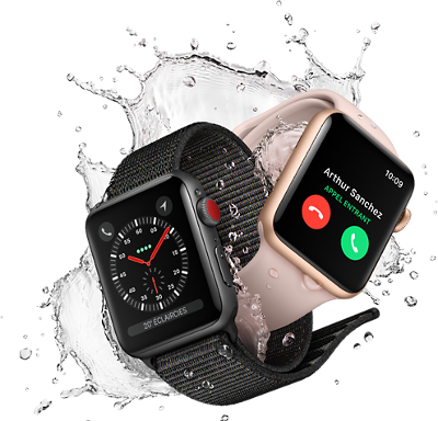 Apple Watch Series 3 - GPS - 42 mm - Montre connectée Apple sur ... 9db6c0157d18