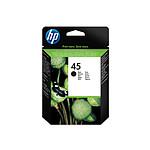 HP Cartouche d'encre n°45 (51645AE) - Noir