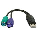 VALUELINE Adaptateur double PS/2 vers USB
