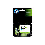 HP Cartouche d'encre n°920XL (CD972AE) - Cyan