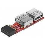 Adaptateur USB 2.0 interne / externe