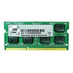 G.Skill SO-DIMM DDR3 4 Go 1333 MHz SQ CAS 9