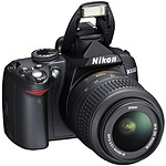 Nikon D3000 + 18-55 II