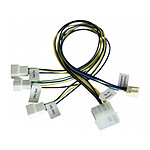 Akasa Câble Molex / 3 ventilateurs PWM - 30 cm