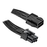 NZXT Rallonge PCI-E 6 broches Noir - 25 cm