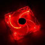 Xigmatek Crystal Series CLF-F8252 - 80 mm - Rouge