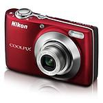 Nikon Coolpix L22 Rouge