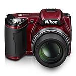 Nikon COOLPIX L110 Rouge