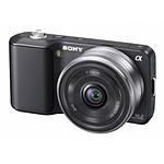 Sony NEX-3 + Pancake 16 mm f/2,8 Noir