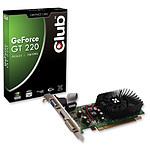 Club 3D GeForce GT220 1 Go