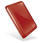 Western Digital (WD) My Passport Essential USB 3.0 500 Go (rouge)