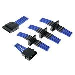 BitFenix Alchemy Câble 4 SATA / Molex - Bleu