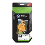 HP Value pack photo n°364 - CH082EE C/M/J