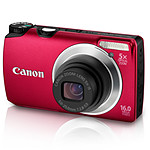 Canon PowerShot A3300 IS Rouge