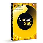 Symantec Norton 360 5.0 (1 an, 3 PC)