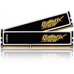 Crucial Ballistix ST 2 x 2 Go PC12800 LED rouge et verte