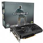 EVGA GeForce GTX 560 Ti 1 Go Superclocked Crysis 2