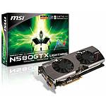 MSI N580GTX Lightning (GeForce GTX 580 1,5 Go)