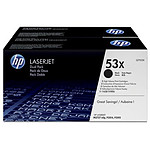 HP 53X - Q7553XD Pack Duo
