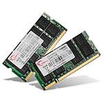 G.Skill SO-DIMM DDR3 2 x 2 Go 1600 MHz SQ CAS 9