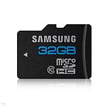Samsung Micro SDHC 32 Go + adaptateur SD (Classe 10)