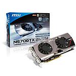 MSI N570GTX-M2D12D5 (GeForce GTX 570 1,25 Go)