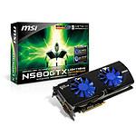 MSI N580GTX Lightning Xtreme Edition (GTX 580 3 Go)