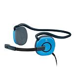 Logitech Stereo Headset H130 - Bleu