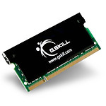 G.Skill SO-DIMM DDR3 4 Go 1600 MHz SK CAS 9