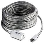 TrendNet TU2-EX12 - Câble d'extension USB 2.0 (A/A) 12m