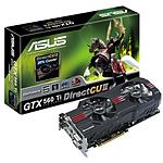 Asus GeForce GTX560 Ti Direct CUII- 1,25 Go - 448 Cores