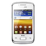 Samsung Galaxy Y Duos - Double SIM S6102 (blanc)