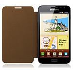 Samsung Etui flip EFC-1E1CM - Galaxy Note (marron)