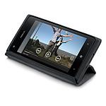 Nokia Etui à rabat en cuir CP-588 pour Lumia 900 (noir)